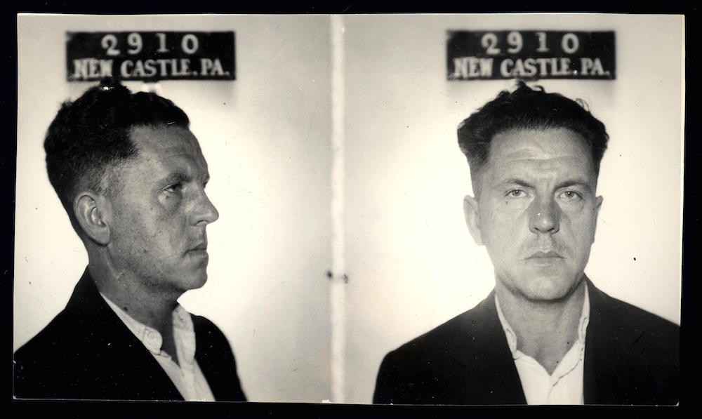 C R Van Houten had a disagreement with a man over a bill, so he placed a stick of dynamite in the gas tank of the man's car and blew it up. No one was harmed. He was sentenced to two to four years in jail.