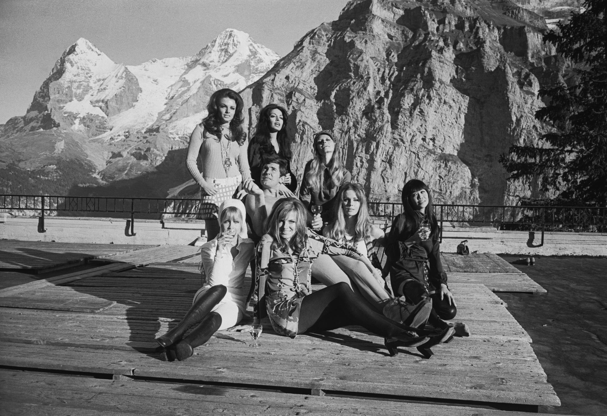 George and the OHMSS Bond Girls.