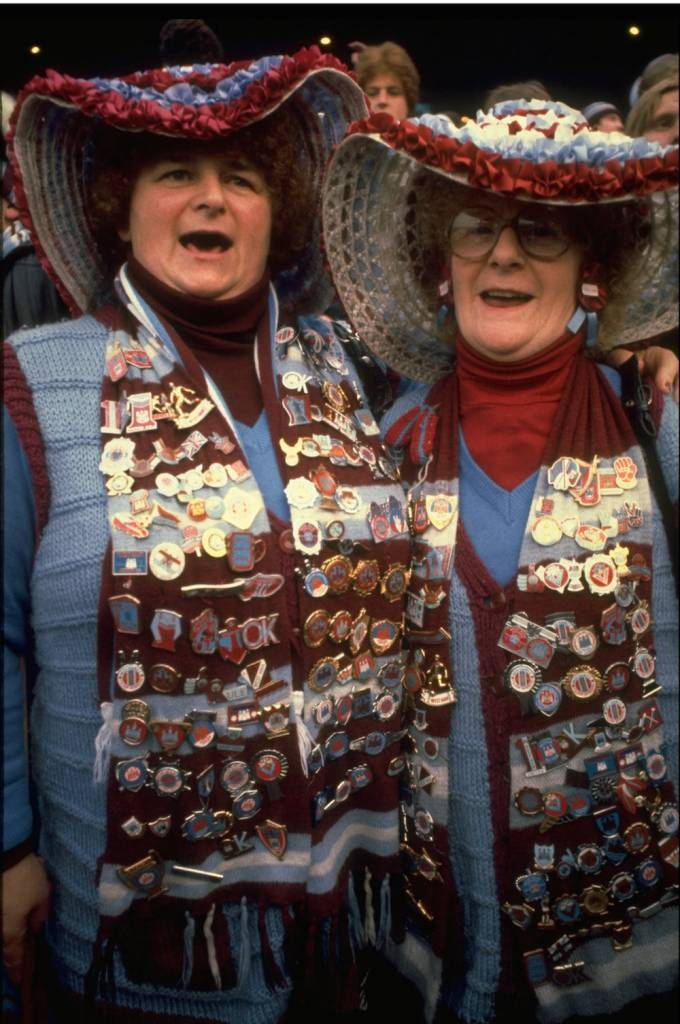Two West Ham United fans