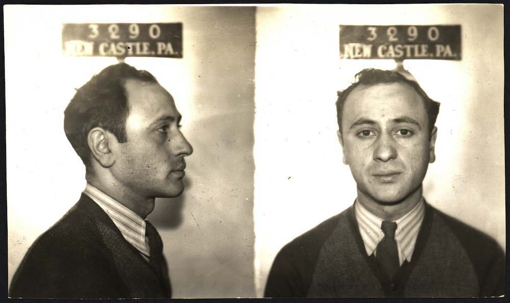 Jimmy Pasta was arrested in March, 1940, for running illegal lotteries. A few months later, he was hailed as a hero for disarming a violent bank robber and using the gun to shoot him dead.