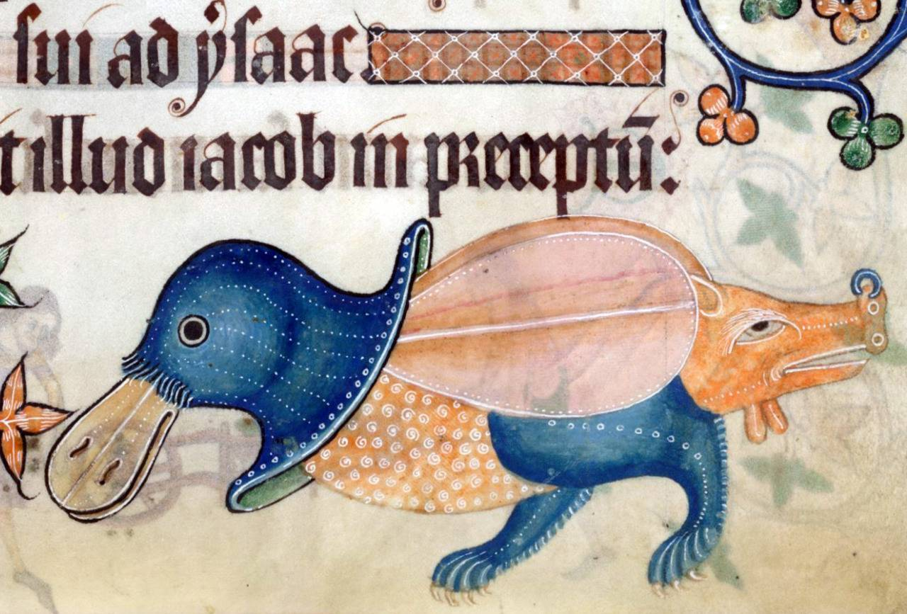 Luttrell Psalter, England ca. 1325-1340. British Library, Add 42130, fol. 186r