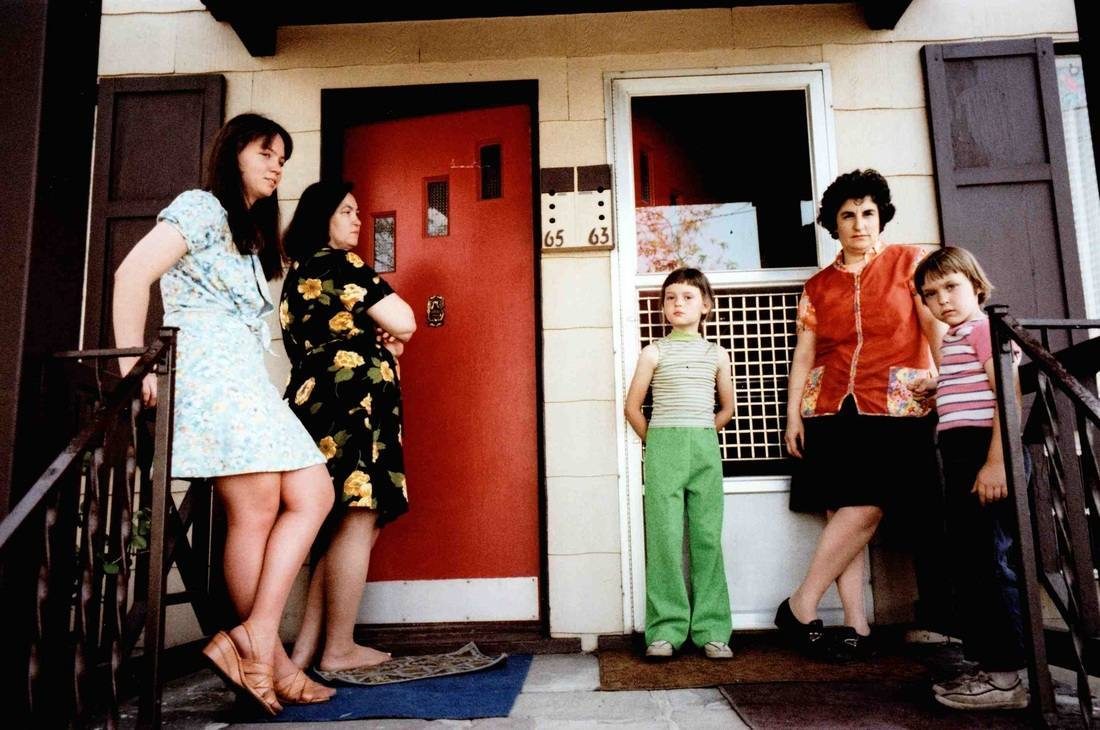 People on Porch, 65, 63, 1977