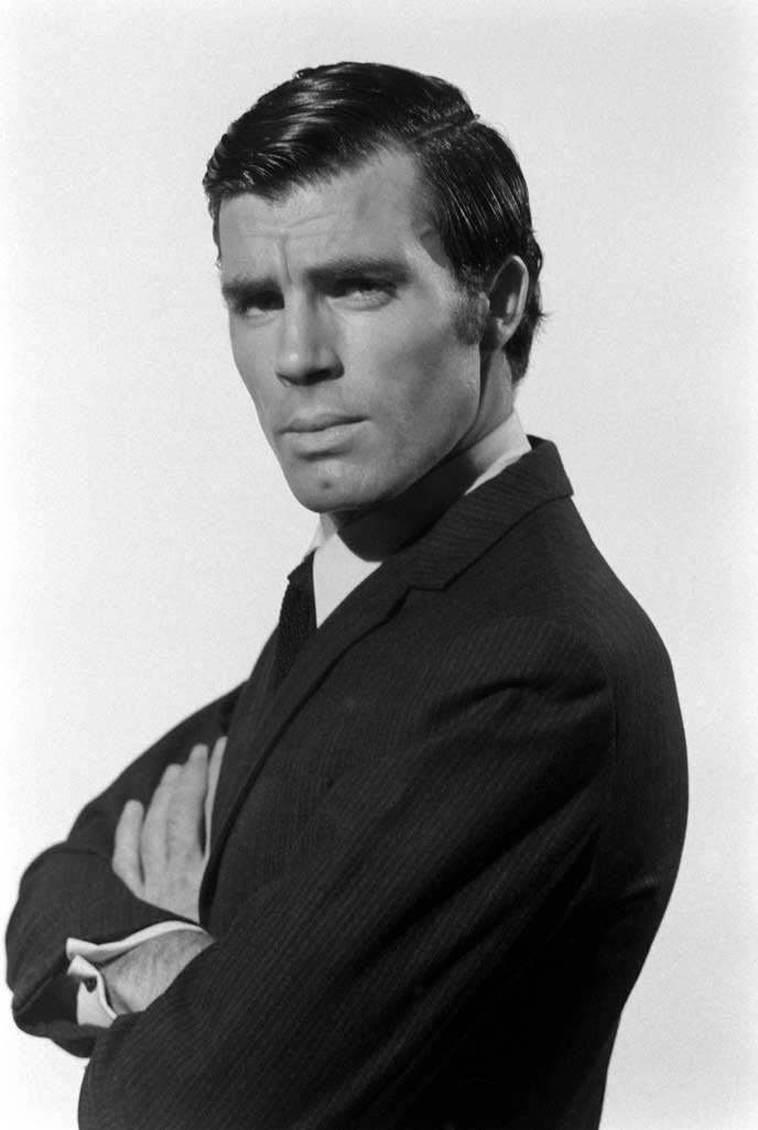 Robert Campbell, who auditioned for the role of James Bond in OHMSS, 1967