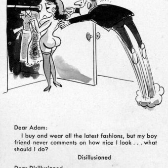 Dear Adam… Bob Tupper's 1950s Comics For The Sexually Troubled