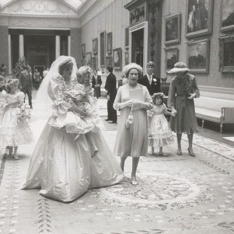 The Queen Watching TV And Other Behind The Scenes Photos Of Charles And Diana's Royal Wedding 1981
