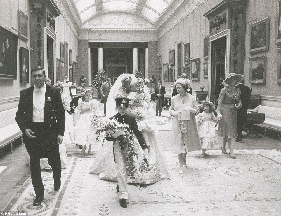 royal wedding diana rare