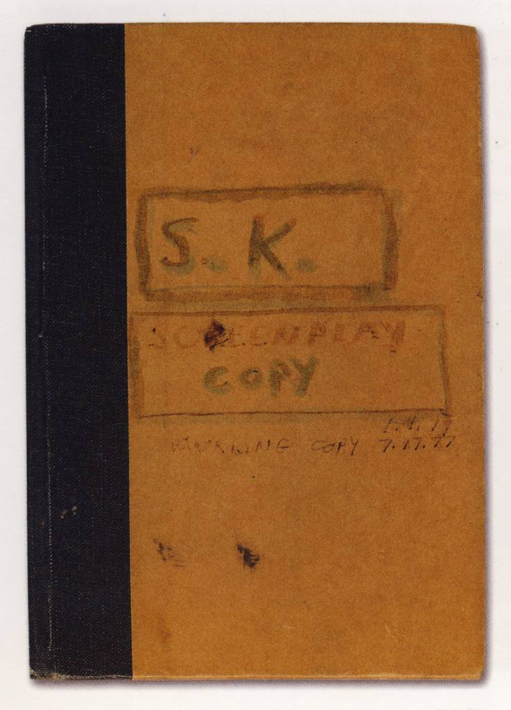 s of Stanley Kubrick's personal copy of Stephen King's novel The Shining