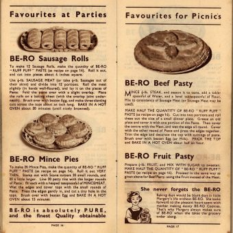 Be-Ro Home Recipes: Scones, Cakes, Pastry, Puddings – A 1923 Cookbook Primer