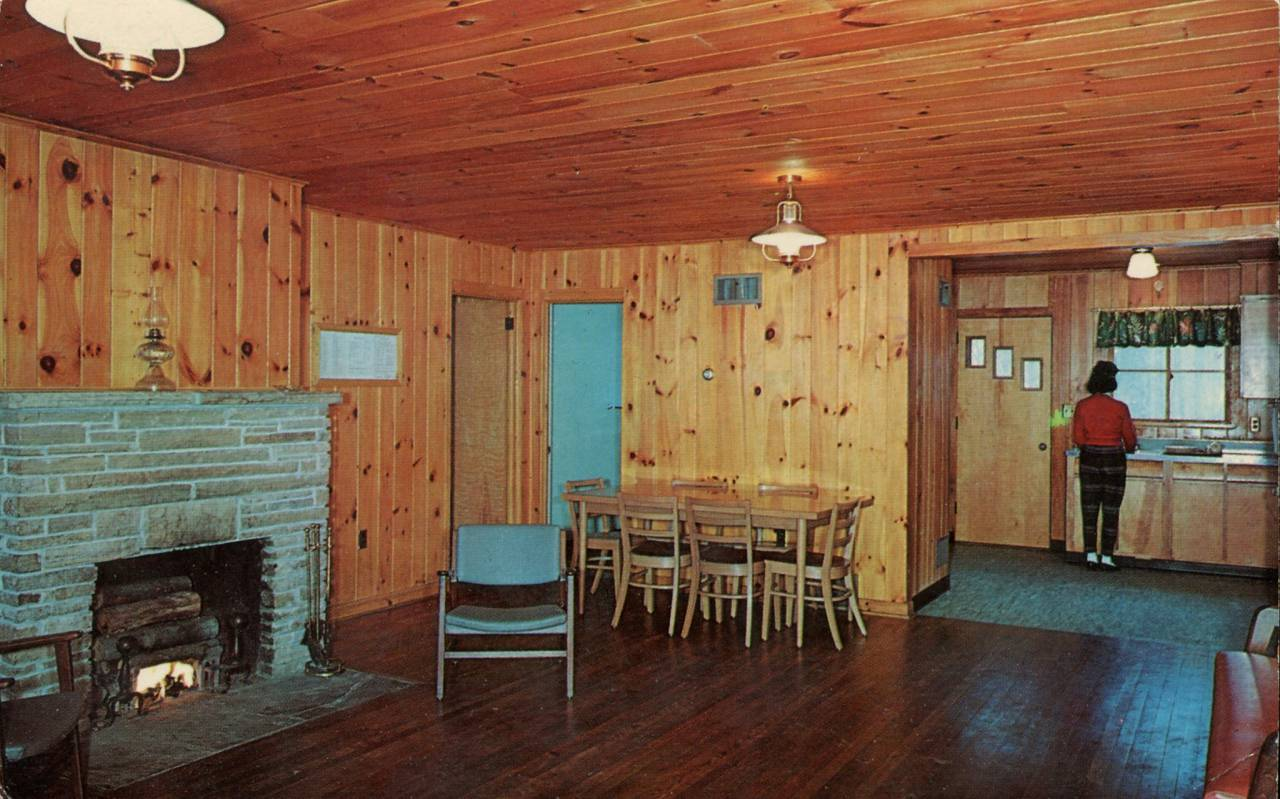 Cabin Interior, Lost River State Park, West Virginia