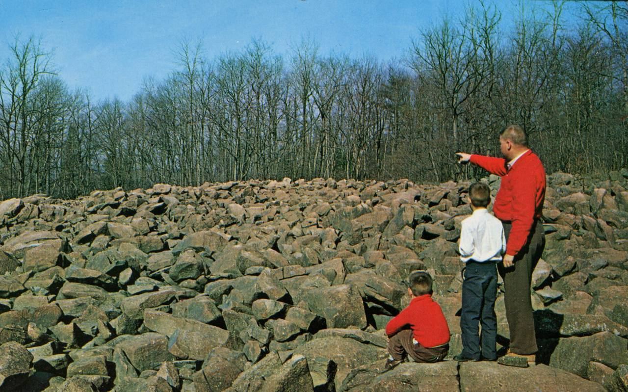 he Ringing Rocks, Pennsylvania