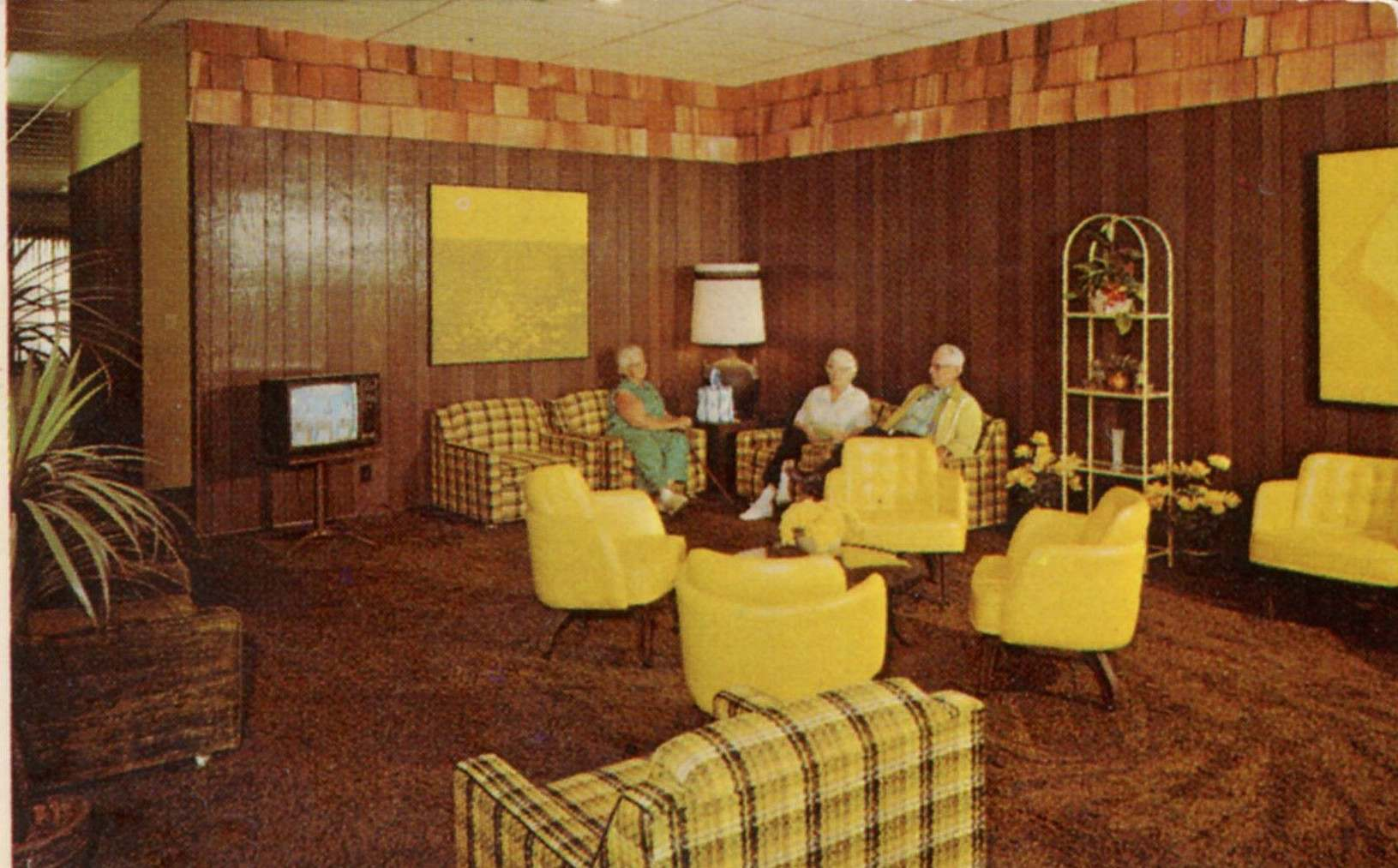 Rooms: Nursing Home Postcards: Waiting For God In Mid-Century