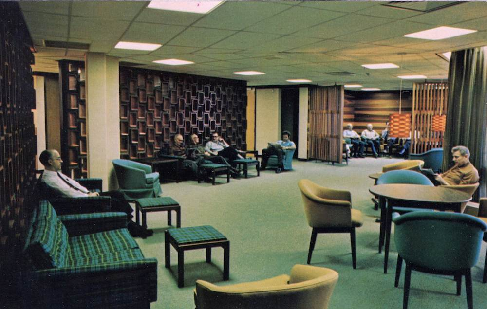 Shouldice Hospital, Patient's Lounge, Thornhill, Ontario