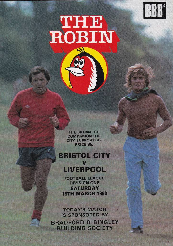 Bristol City vs Liverpool - 1980 - Cover Page