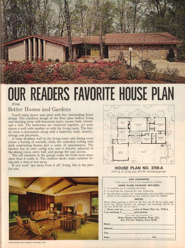 The vintage home better homes and gardens 1972 Bhg homes