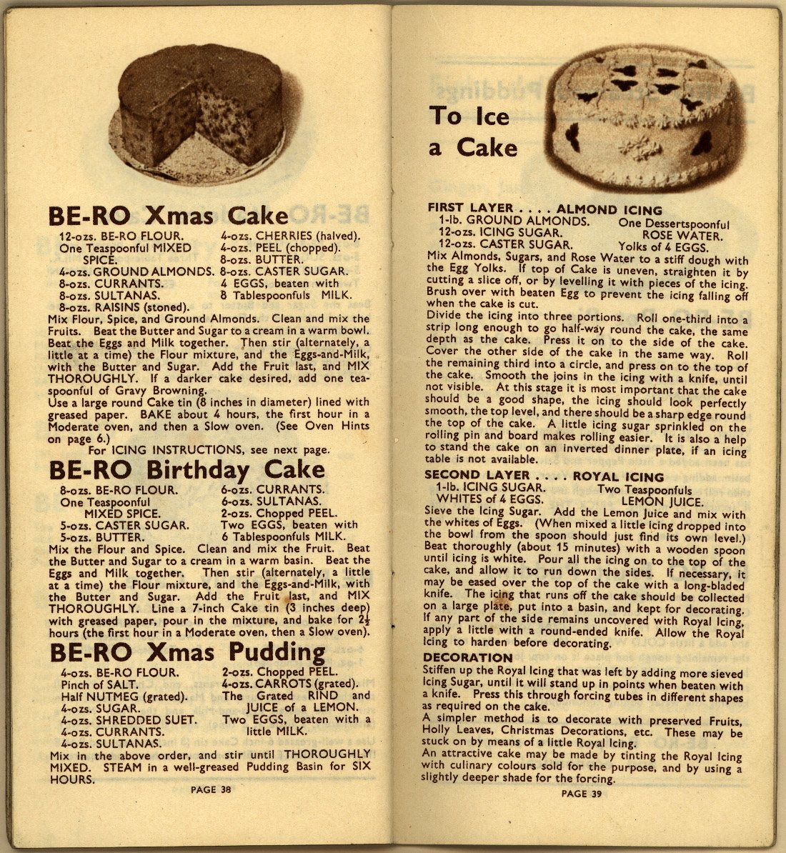 Be-Ro Home Recipes: Scones, Cakes, Pastry, Puddings