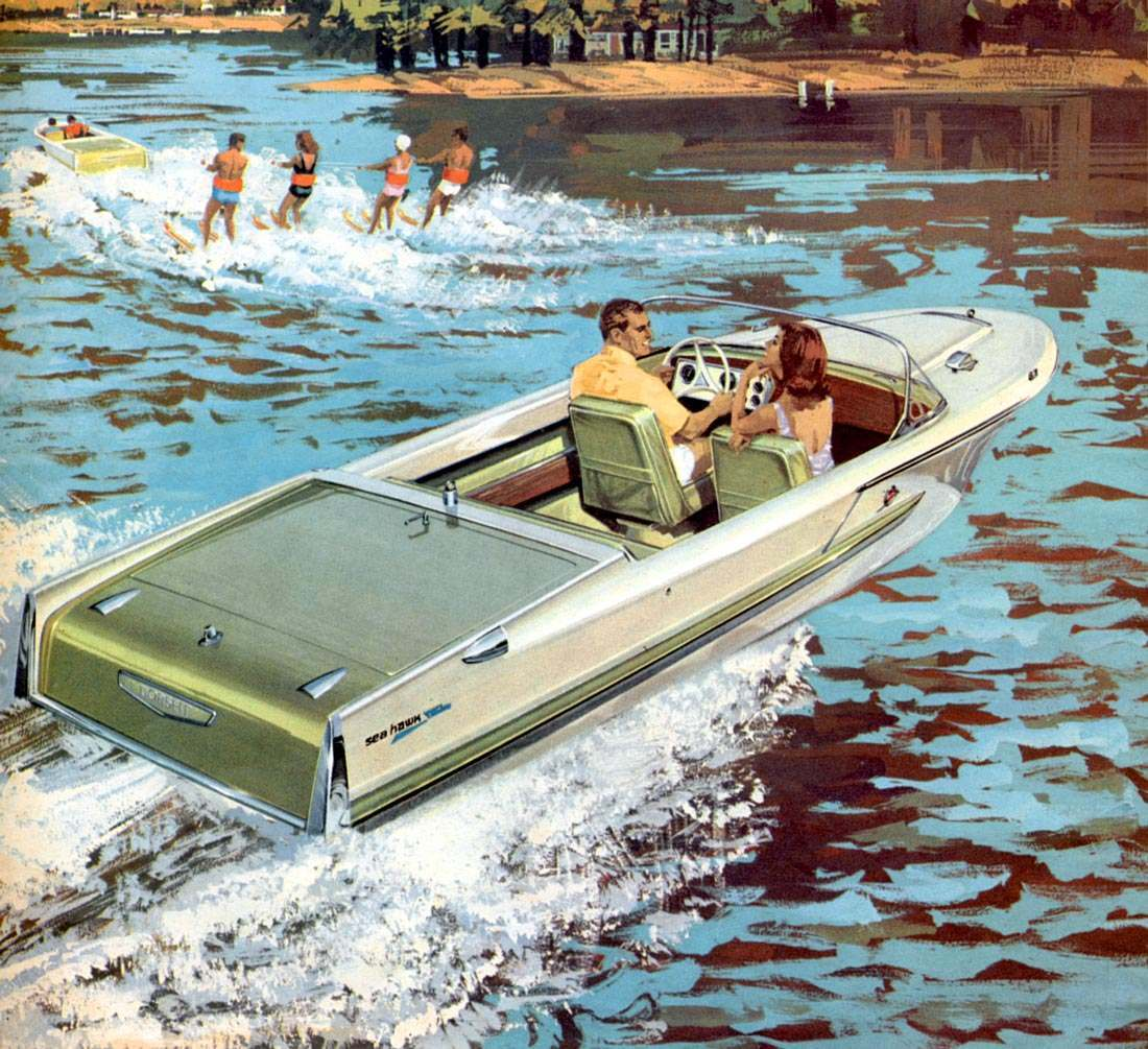 Pleasure Boating Advert-orama: Dorsett Marine And Raymond