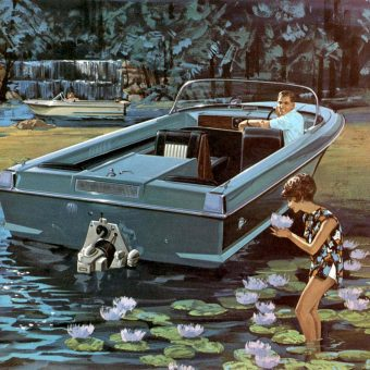 Pleasure Boating Advert-orama: Dorsett Marine And Raymond Loewy's Mid-Century American Dream