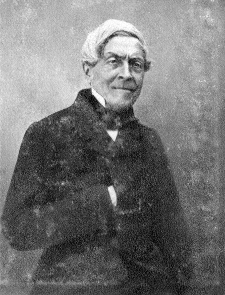 Jules Michelet, French historian, c1860-1874. Michelet (1798-1874) is best known for his 17-volume History of France (1833-1867). A photograph from Album de Photographies, Dans L'Intimite de Personnages Illustres, 1845-1890, Editions MD, 22 Rue de L'Arcade, Paris 8, 1845-1890. (Photo by The Print Collector/Print Collector/Getty Images)