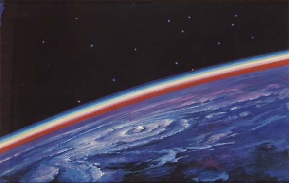Daybreak, 1980s. Artist: Leonov, Alexei Arkhipovich (*1934) (Photo by Fine Art Images/Heritage Images/Getty Images)