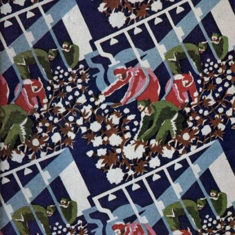 22 Soviet Union Fabric Designs To Enhance Communist Emulation – 1920s-1930s