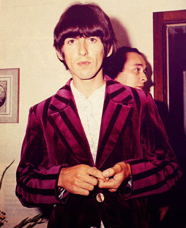 George Harrison Wearing Same Hung On You Jacket 1966