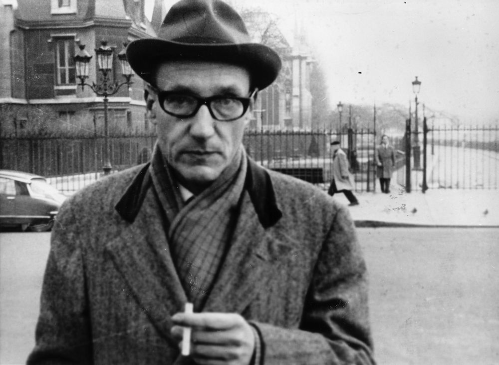 American writer William Seward Burroughs (1914 - 1997), author of the cult novel 'Naked Lunch'.   (Photo by Evening Standard/Getty Images)
