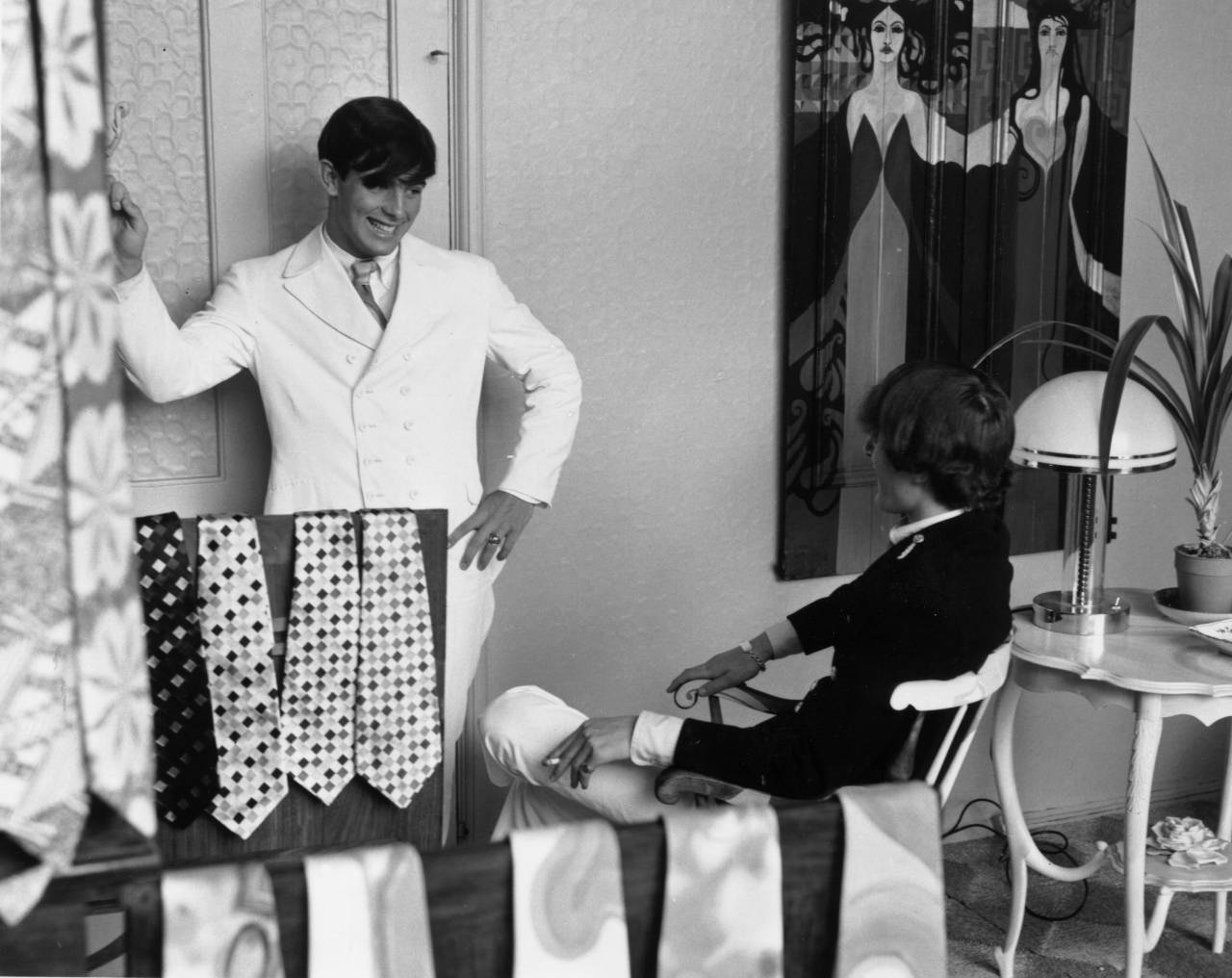 19th July 1966:  The interior of the 'Hung On You' boutique in Chelsea's Cale Street, London.  (Photo by Evening Standard/Getty Images)