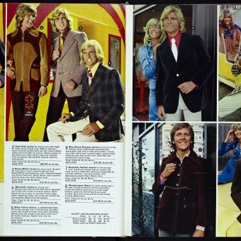 Fourteen Glorious Pages of Kays Catalogue Menswear from 1973