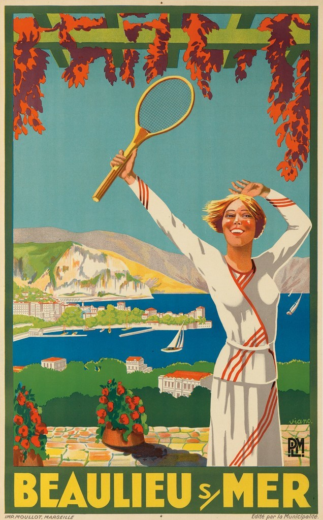 Oh I Say Glorious Vintage Tennis Posters 1895 1956 Flashbak