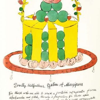 Wild Raspberries And Fighting Gefilte Fish: Andy Warhol's 1959 Spoof of Haute Cuisine Cookbooks