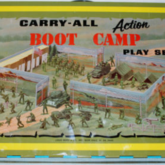 Rugged Steel Worlds! Remembering the Carry-All Action Playsets by Marx