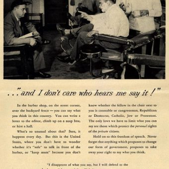 In 1952 A Virginia Railway Company Reminded Americans About The Value Of Free Speech