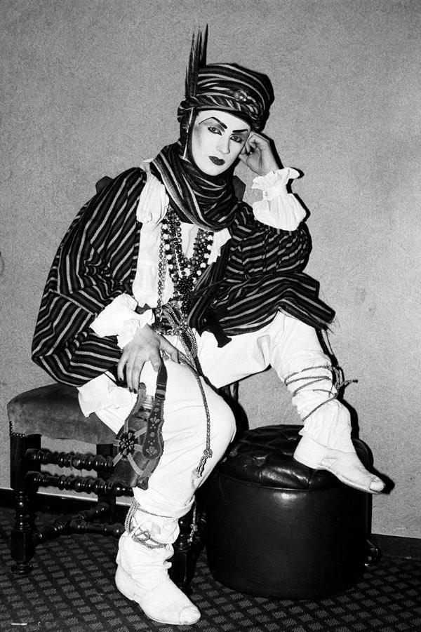 Club for Heroes. Boy George. 1981