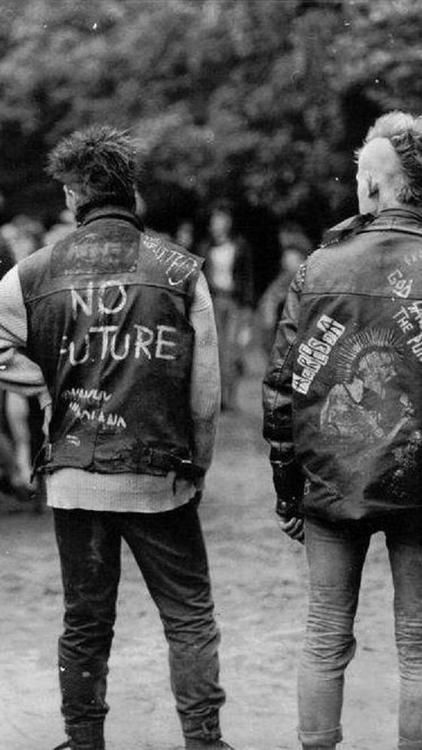 a duty to offend  1970s punk jackets