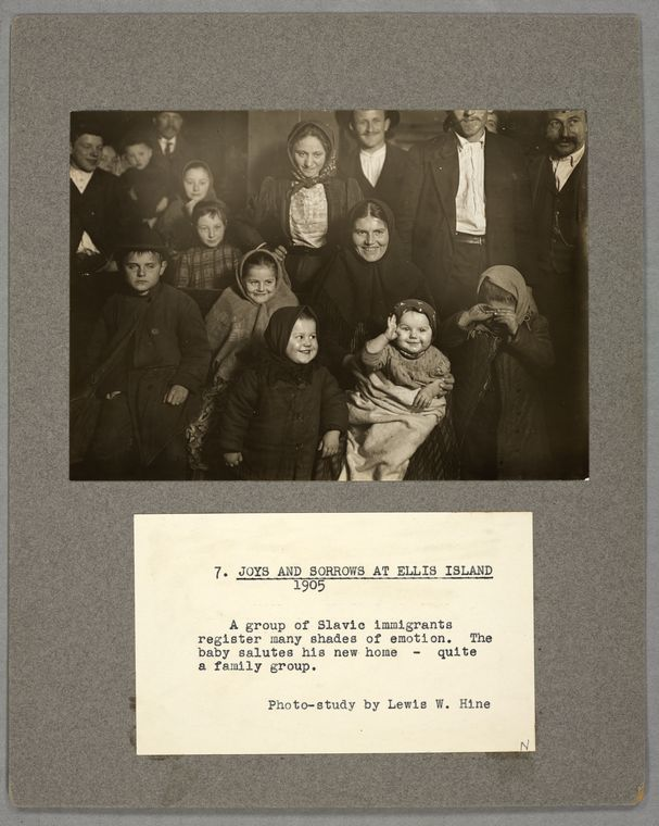 Joys and sorrows at Ellis Island, 1905