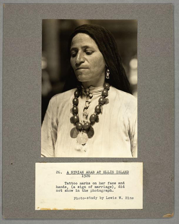 A Syrian Arab at Ellis Island, 1926