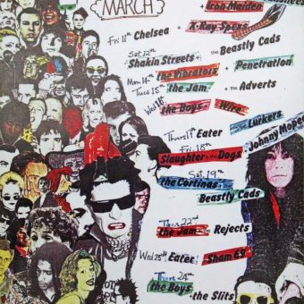 Electric Punk Art From London's Roxy Club (1976-1978)