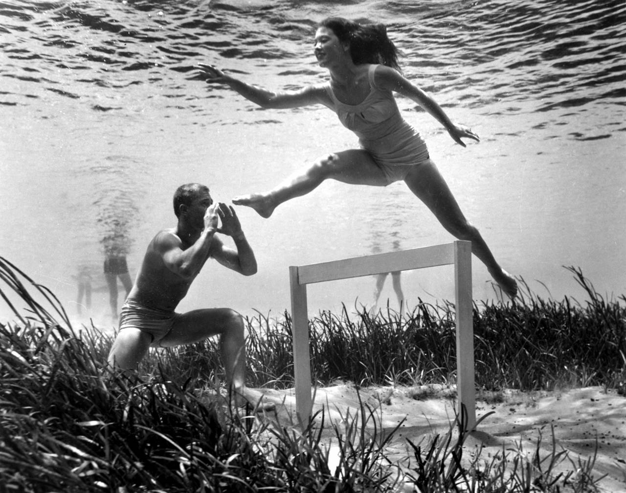 Bruce Mozert Silver Springs, Florida, in 1938,