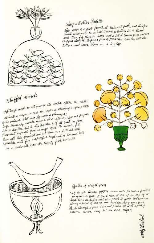 warhol recipes 7