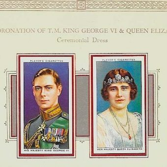 Cigarette Cards Celebrating The Coronation of HM King George & HM Queen Elizabeth, 1937