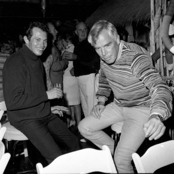 A Roomful of Cool: Lee Marvin, Steve McQueen, Warren Oates, John Boorman Celebrate At The 'Point Blank' Wrap Party