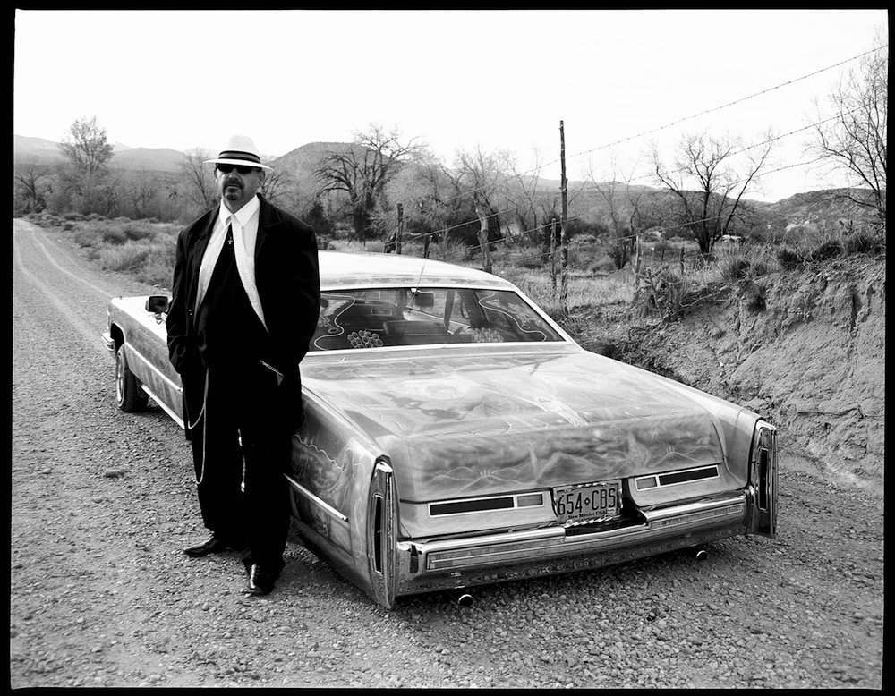 Low Low was shot in the desert of Chimayo NM where I was documenting Lowriders © Hunter Barnes/Reel Art Press