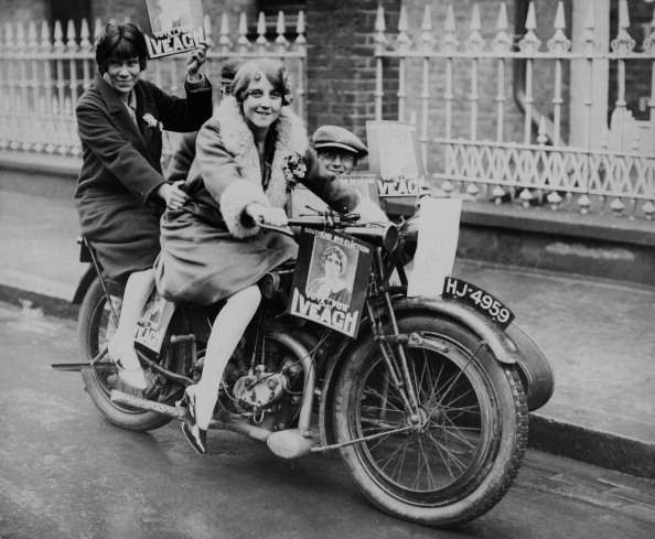 UNSPECIFIED - JANUARY 01:  Young People Riding A Motorcycle  (Photo by Keystone-France/Gamma-Keystone via Getty Images)