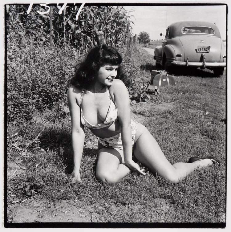 Bettie Page Weegee