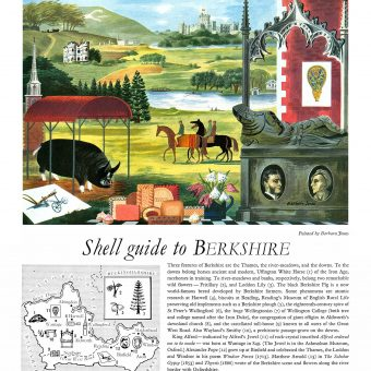 The Key to the Countryside – Eight Gorgeous Shell Adverts from the mid-1950s