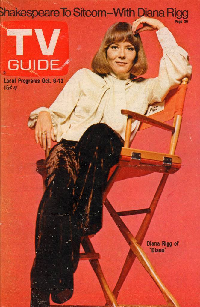 Diane Rigg TV guide
