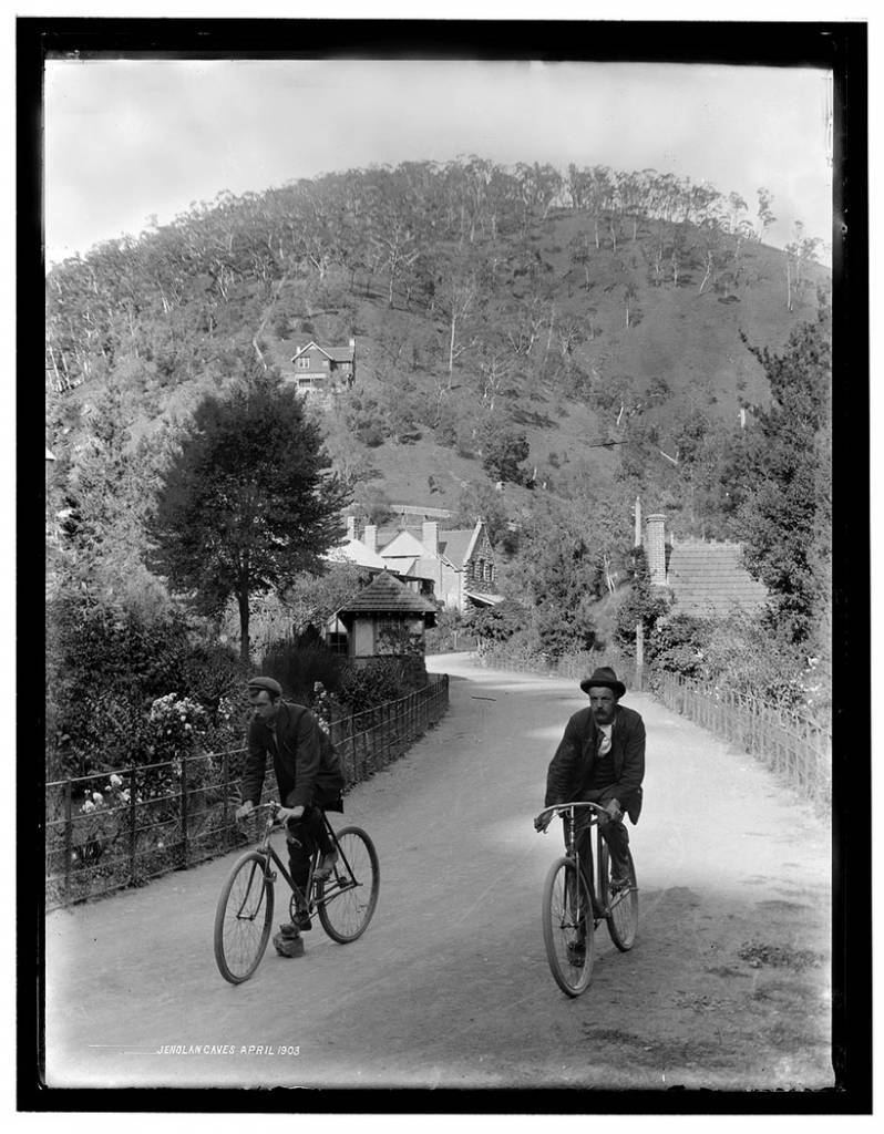 Jenolan Caves, April 1903, photographed by Edward J. Cooke