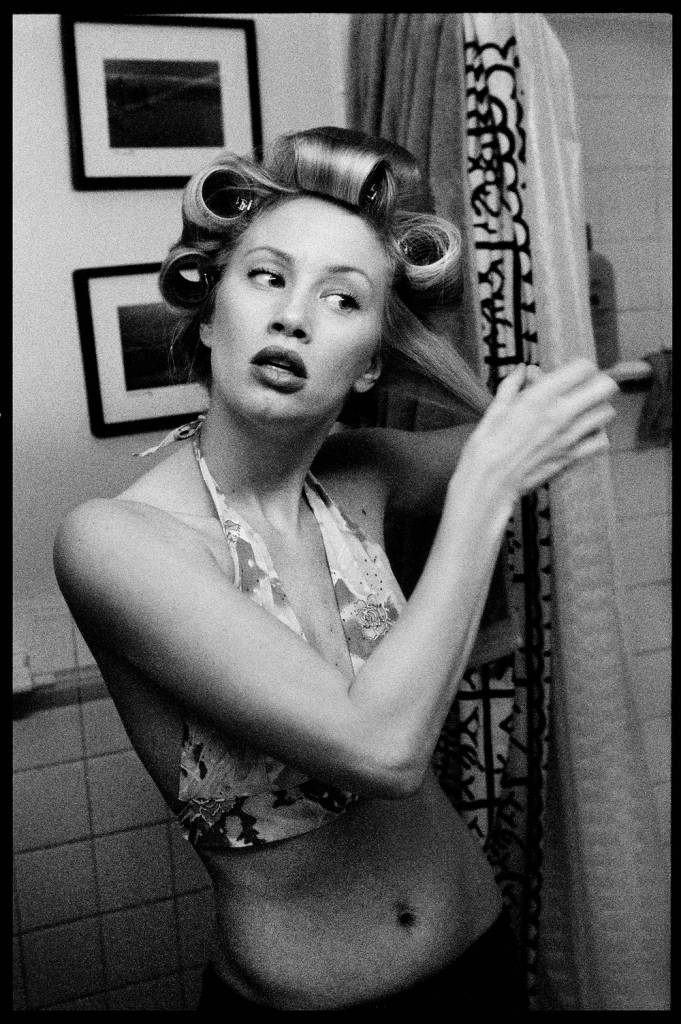 Doris was shot in NYC when she was getting ready for a photoshoot © Hunter Barnes/Reel Art Press