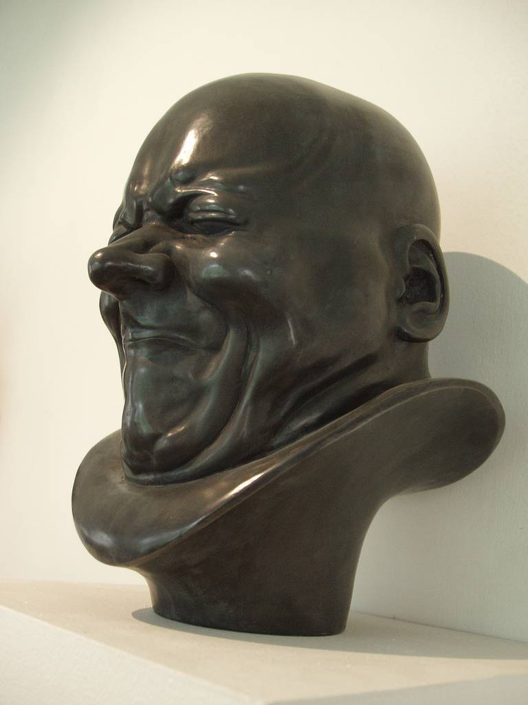 Franz Xaver Messerschmidt, An Arch-Rascal, c. 1770 Tin-lead alloy Height 38,5 cm