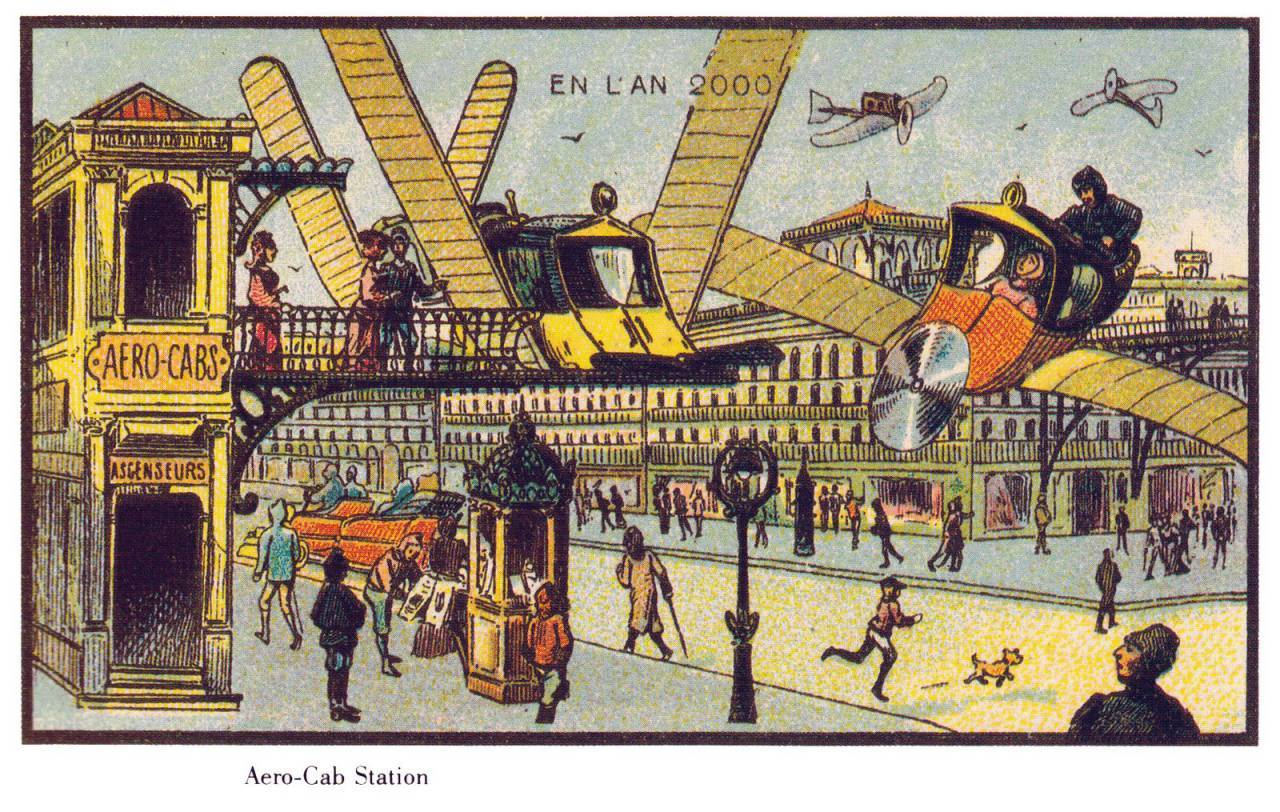 France_in_XXI_Century._Air_cab